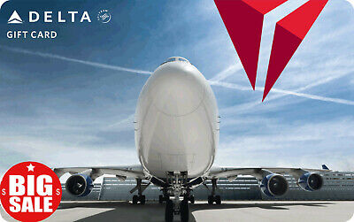 Delta Airlines 100 Gift card