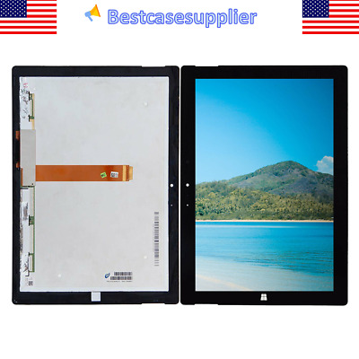 For Microsoft Surface 3 RT3 1645 1657 LCD Display Touchscreen Digitizer Assembly