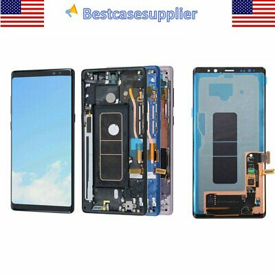 LCD Display Touch Screen Digitizer Frame Assembly For Samsung Galaxy Note8 N950