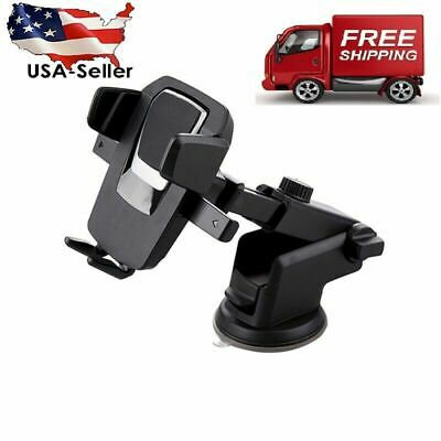 360° Mount Holder Car Windshield Stand Mobile Cell Phone GPS iPhone Samsung