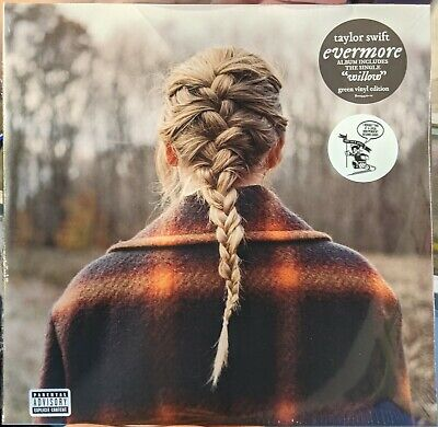 Taylor Swift - Evermore - Exclusive Green Color Vinyl - NewSealed