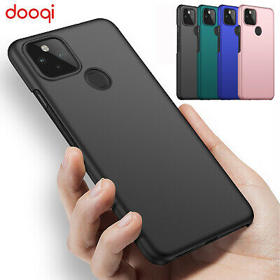 For Google Pixel 5 3a 3 XL 4a 5G PC Protective Case  Tempered Glass Protector