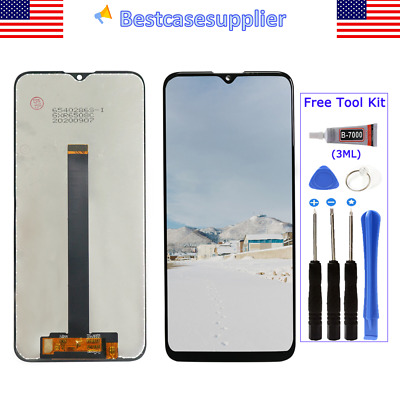For Motorola Moto One Fusion XT2073 XT2073-2 LCD Display Touch Screen Digitizer