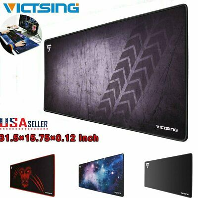 VicTsing Gaming Mouse Pad Extended Large Non-Slip Water-Resistant Mouse Mat US