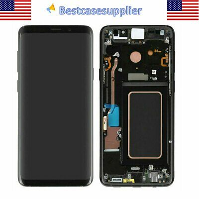 For Samsung S9- SM-G965F OEM LCD Display Touch Screen Digitizer - Frame Black