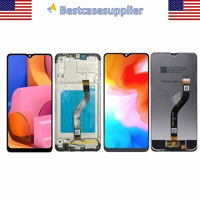 LCD Display Touchscreen Digitizer Frame For Samsung A20s A207FDS A207MDS A207F