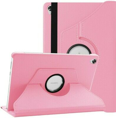 Leather Case Cover 360 for HUAWEI Media Pad MediaPad M6 10.8 Tablet PINK Great