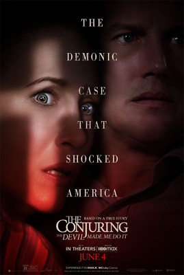 The Conjuring 3 The Devil Made Me Do It DVD 2021 Pre-Order Patrick Wilson