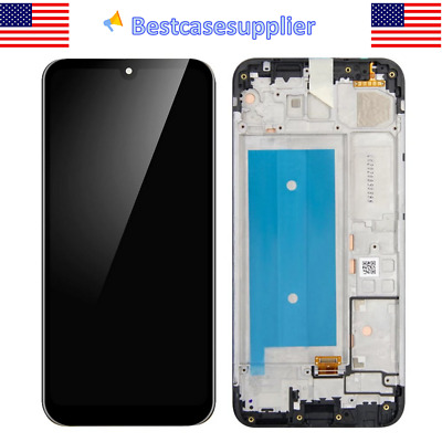 LCD Display Touch Screen Digitizer Frame For LG Harmony 4 2020 LMK400AM K400AM