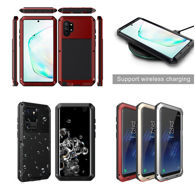 Heavy Duty Case Shockproof Armor Bumper Cover For Samsung S20 Ultra S10 S9 S8-