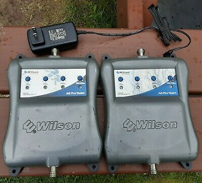 Lot of 2 Wilson AG Pro Quint 4 Band Cell amplifier 460004