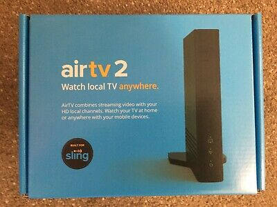AirTV 2 Local Channel Streamer Newest Model  Free 25 Sling credit -Cat5Cable