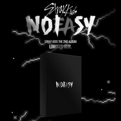 Stray Kids - NOEASY 2nd Album Limited Version CD-Poster-Card-Pre-Order-Gift