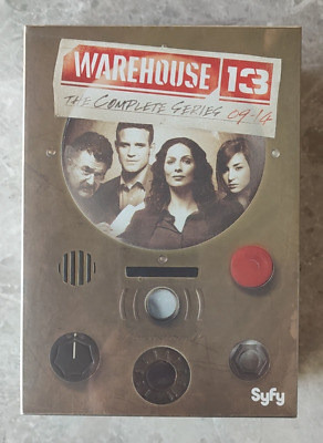 Warehouse 13 The Complete Series DVD16-Disc New Free shipping
