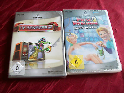 PC CD   PLAY INDIE   FIESE FREUNDE 2 LETZTE PARTY IN PARIS/TV MANAGER 2