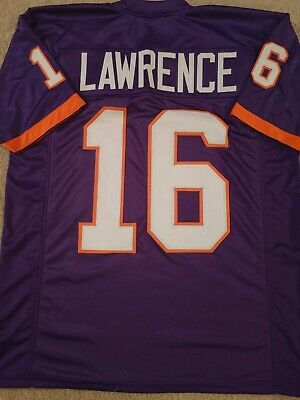 New Trevor Lawrence 2XL Clemson College Custom Stitched Football Jersey Mens