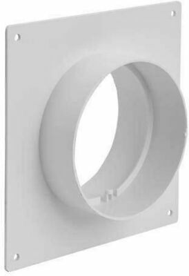 Duct Connector Flange Plastic Straight Pipe Flange 4 5 6 inches