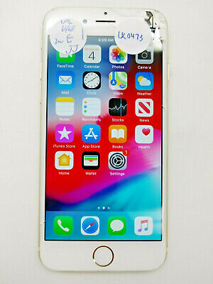 Apple iPhone 6 A1586 Gold 64GB Unlocked Check IMEI Cracked -LR0473