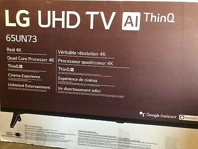 LOCAL PICK UP ONLY LG 65 TV 65UN7300AUD 4K Smart UHD TV with AI ThinQ