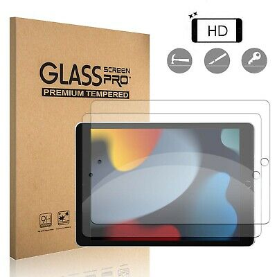 For iPad 7th 8th 9th Generation 10-2 inch 2021 Tempered Glass Screen Protector