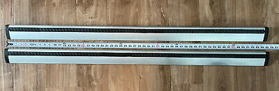 Thule 53 AeroBlade Load Bar 135cm - Complete Set In Good Used Condition