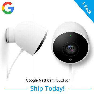 Google Nest Cam Outdoor 1080P HD Video Night vision Field of View for Home