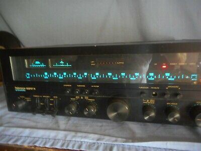 Vintage Quadraflex Reference 650FET R Stereo Receiver has issues needs repair