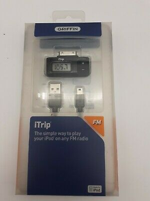 Griffin iTrip FM Dock Connector for iPod - Play iPod on any FM Radio Black NEW