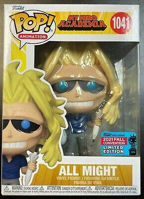 MY HERO ACADEMIA FUNKO POP NYCC 2021 EXCLUSIVE WEAKENED ALL MIGHT IN HAND