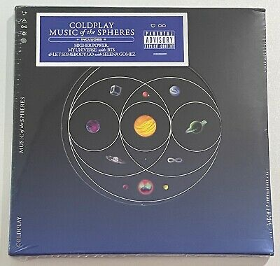 Coldplay Music of the Spheres 2021 CD Brand New Sealed in package FREE S-H