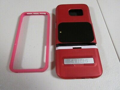 Lot of 2 Seidio Phone CaseSkin and Pink Bumper for iPhone SE iPhone 5s - 5