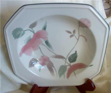 MIKASA CONTINENTAL SILK FLOWERS RIMMED SOUP BOWL
