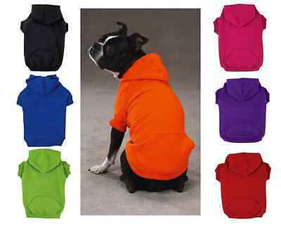 Zack - Zoey HOODIE Dog Basic Sweatshirt Shirt Sweater Winter Clothes US SELLER