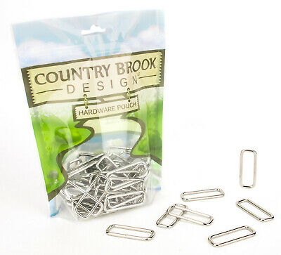 24 - Country Brook Design® 1 12 Inch Lite  Welded Rectangle Rings