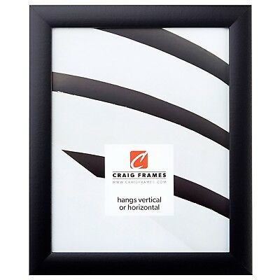Craig Frames Black Picture Frames - Poster Frames 1 Wide Contemporary Style