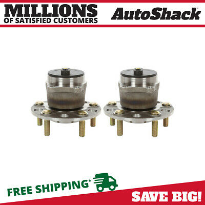 Auto Shack HB612334PR Rear Wheel Hub Bearing Assembly Pair