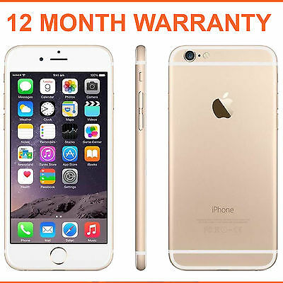 Apple iPhone 6 16GB Champagne Gold Factory Unlocked