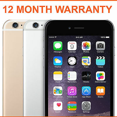 Apple iPhone 6 16GB 64GB 128GB Factory Unlocked - Various Colours