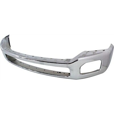 Front Bumper For 2011-2016 Ford F-250 Super Duty Chrome Steel