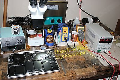 Retina Macbook Pro Logic Board Repair Service Liquid Spill 1-3 Day Repair