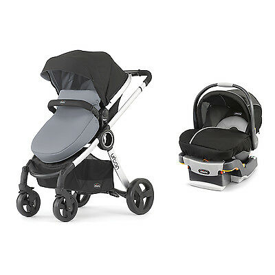 Chicco 6-in-1 Urban Modular Stroller - Infant Car Seat and Base Travel System