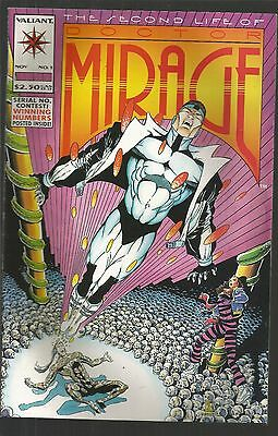 The Second life of Doctor Mirage #1,2,3,4,, Valiant,  d2