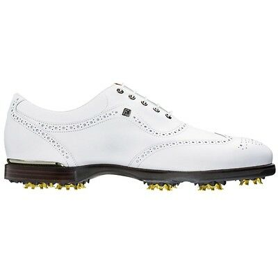 NEW FootJoy Closeout Mens Icon Black Golf Shoes 52009 - White