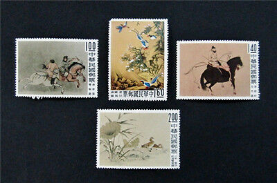 nystamp Taiwan China Stamp  1261-1264 Mint OG NH 35