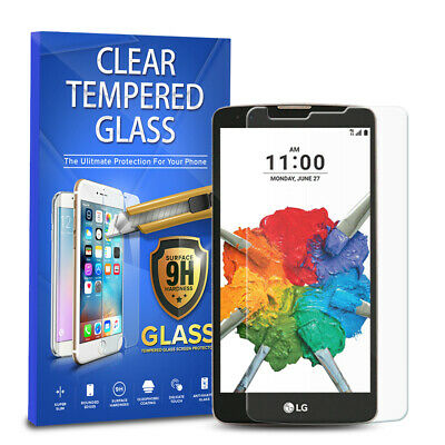 For LG Stylo 2 Plus MS550 Tempered Glass Screen Protector Cover