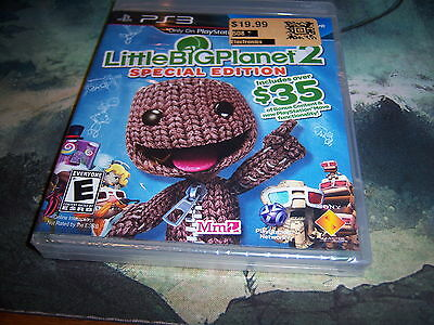 LittleBigPlanet 2 - Special Edition Sony PlayStation 3 2011 Brand New Sealed