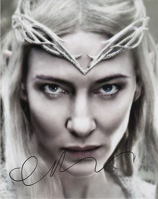 Cate Blanchett The Hobbit Autographed Signed 8x10 Photo COA 1