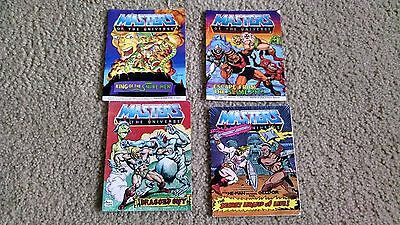 Vintage Masters of the Universe - Sectaurs Mini Comic - BookPoster Lot