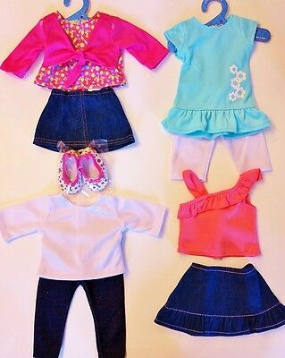 Doll Clothes LOT Fits 18 American Girl 4 Outfits New 33 C