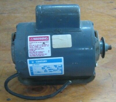 Century electric motor for table saw or power tool - 13 HP 1725 RPM 115230 V